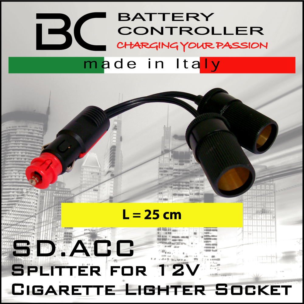 Bc Battery Controller 710 Sdacc Splitter 12v Socket Jaws Motorcycles Wiring Cigarette Lighter On Motorcycle