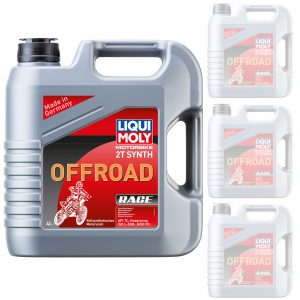 Liquimoly Oil 2 Stroke - Fully Synth - Offroad Race 4L 3064 (Box Qty 4)