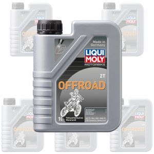 Liquimoly Oil 2 Stroke - Semi Synth - Offroad 1L 3065 (Box Qty 6)