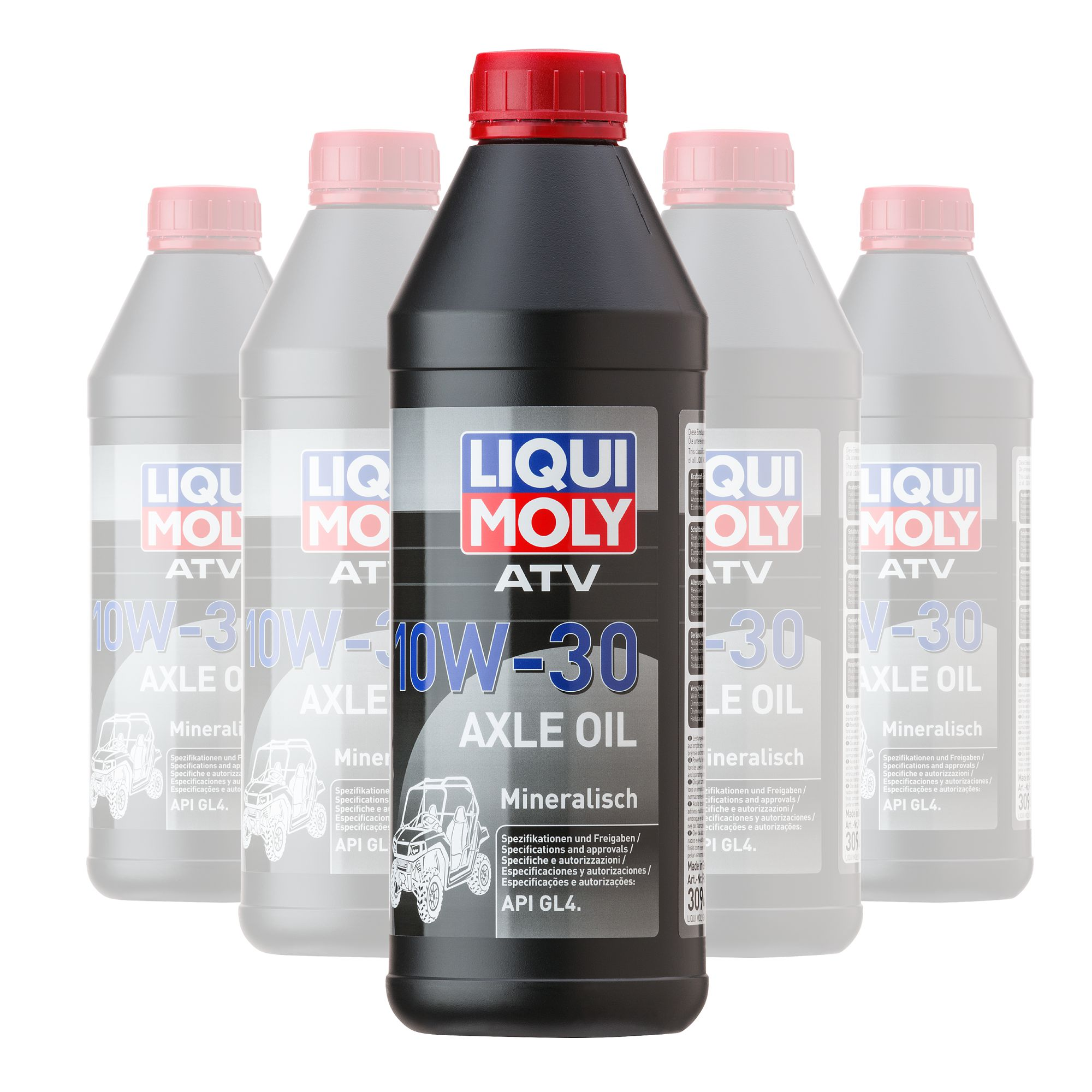 Liquimoly Axle Oil 10W-30 Atv 1L 3094 (Box Qty 6)