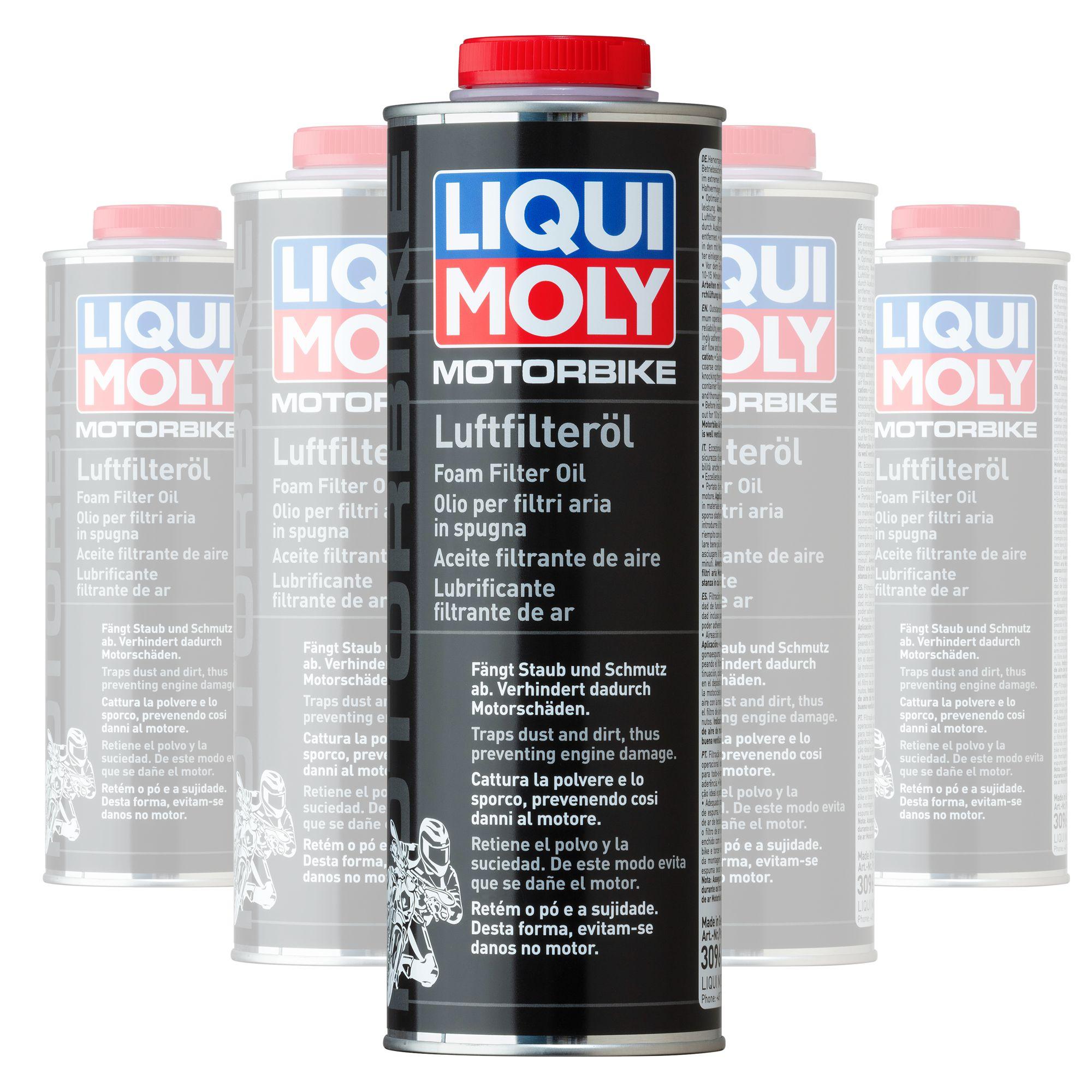 Liquimoly Foam Filter Oil 1L 3096 (Box Qty 6)