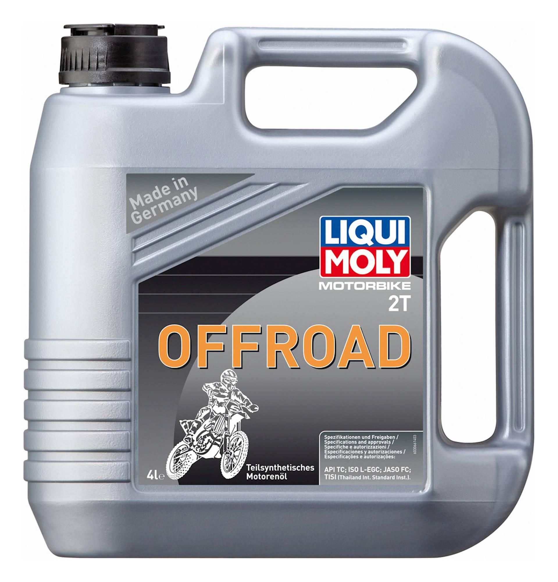 Liqui Moly 2 Stroke Semi Synthetic Offroad 4L - #3066