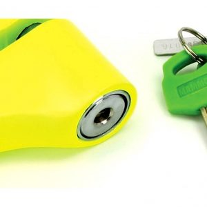 Mammoth Security Yellow Disc Lock With 10mm Pin